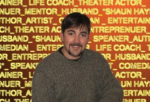 Shaun Hays - youth speaker, author, artist