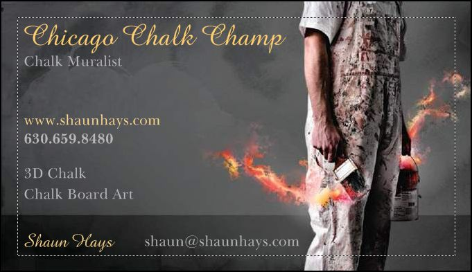 Chicago Chalk Champ - Shaun Hays