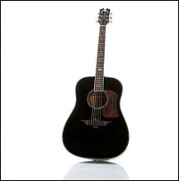 My new acoustic guitar. Not bad for a beginner guitar.